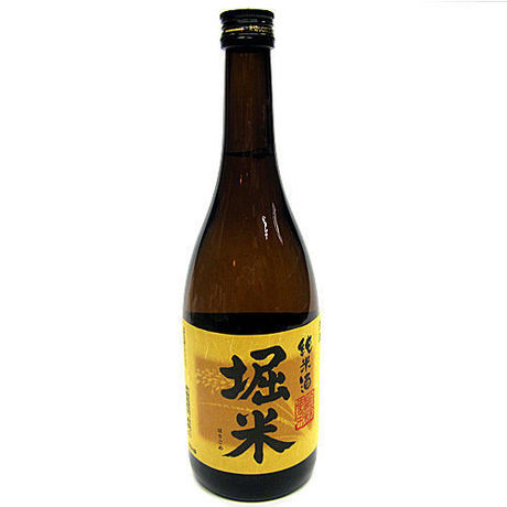 Horigome brand, brewed by Takahashi from Iwate Japanese SAKE, Junmai-shu, dry light type, 720ml, 15% Alcohol.