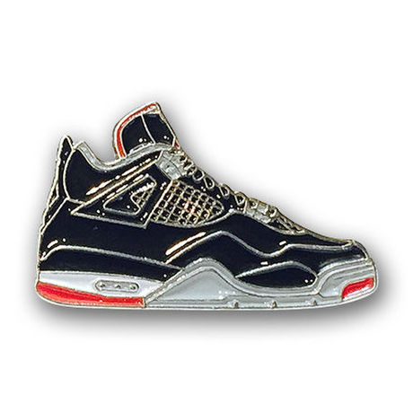 """PIN DROP NYC """"AIR JORDAN 4 BRED"""""""