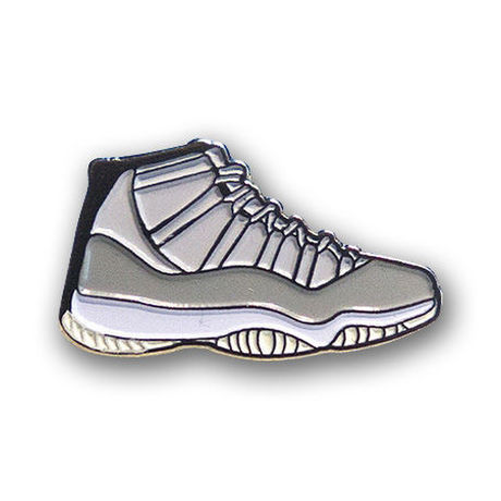 """PIN DROP NYC """"AIR JORDAN 11 COOL GREY"""""""