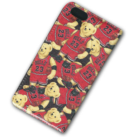 """INTERBREED(FBI) FUNK BEAR """"MJ BEAR"""" FLIP CASE FOR iphone 6"""