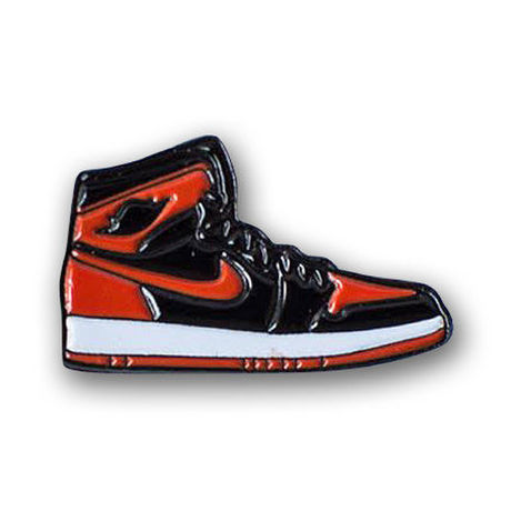 """PIN DROP NYC """"AIR JORDAN 1 BRED"""""""