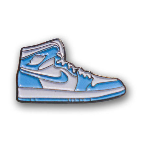 """PIN DROP NYC """"AIR JORDAN 1 UNC"""""""