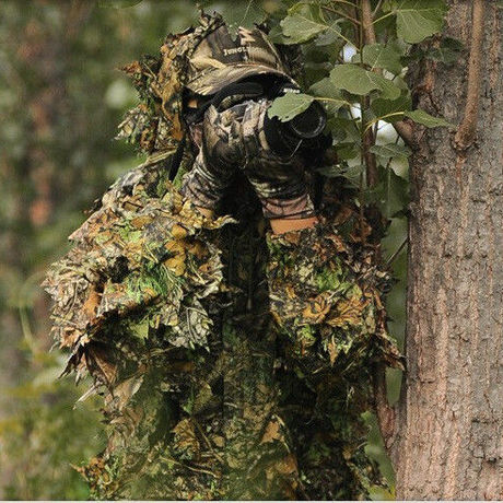 Real Camouflage Ghillie suit Sniper