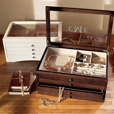 ☆Pottery Barn☆ANDOVER JEWELRY BOX【全5色】