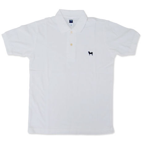 ShibaLand Original White Polo