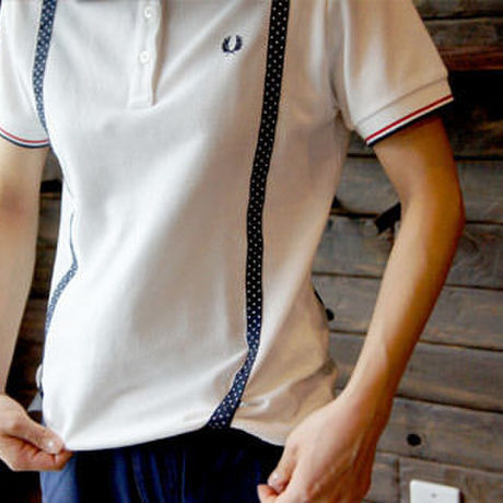◇◆20%OFF◆◇ FRED PERRY  ※ レディース ※「 サスペンダー ポロシャツ  」