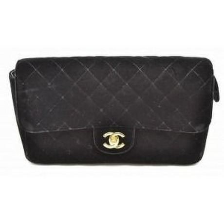 VINTAGE CHANEL                《Velours Matelasse Black》