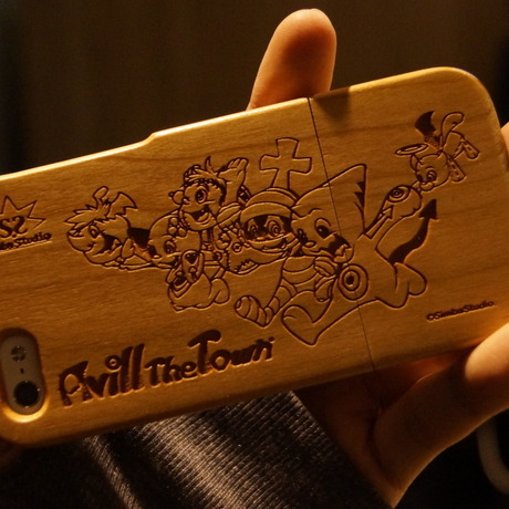 Avill the Town iPhone5/5S wood case