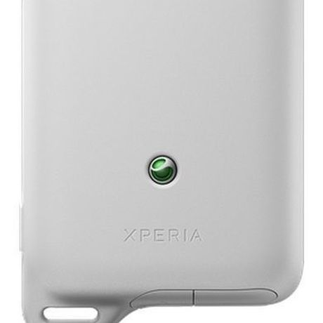 xperia active着せ替え用リアカバー white 防水加工あり