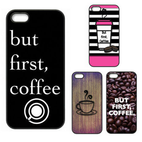 【HY008】★   iPhone SE iPhone 5 iPhone 6 / 6 plus ★ iPhoneケース OK but first Coffe おしゃれ かわいい クール 大人 シンプル