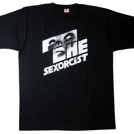 THE SEXORCiST [WHITE on BLACK]