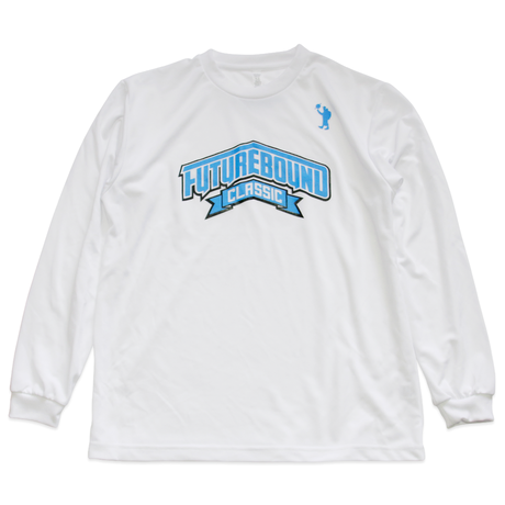 FUTURE BOUND CLASSIC  Dri Long Sleeve T-Shirt (White)