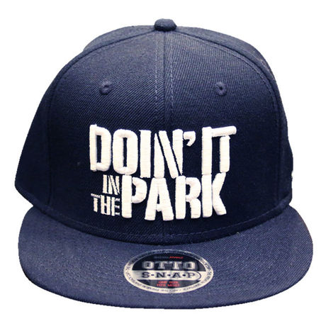 """DOIN' IT IN THE PARK X SpaceBall Mag """"Snap Back Cap"""" - Dark Navy"""