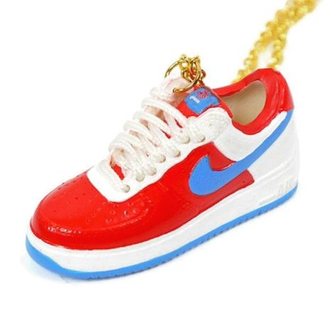 LULY/SNEAKER NECKLACE NIKE AIR FORCE1 スニーカーネックレス/Tricolour
