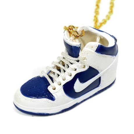 LULY/SNEAKER NECKLACE NIKE AIR FORCE1 スニーカーネックレス/ White-Blue