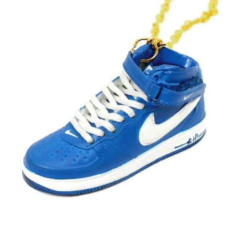 LULY/SNEAKER NECKLACE NIKE AIR FORCE1 スニーカーネックレス/Blue