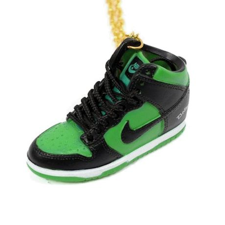 LULY/NIKE AIR FORCE1 スニーカーネックレス/Black-Green