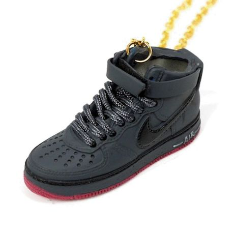 LULY/SNEAKER NECKLACE NIKE AIR FORCE1 スニーカーネックレス/Blac