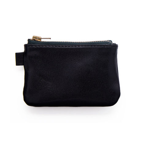 N003. LEATHER COIN CASE / UTILITY