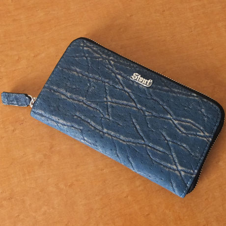 Stoutleather ZipWallet Elephant BlueJean(エレファントブルージーン)