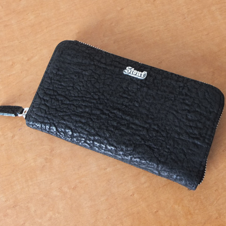 Stoutleather ZipWallet Shark skin(シャーク)