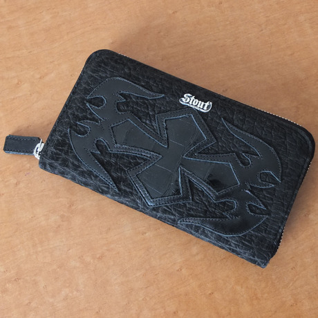 Stoutleather ZipWallet Hippo Art(ヒッポアート)