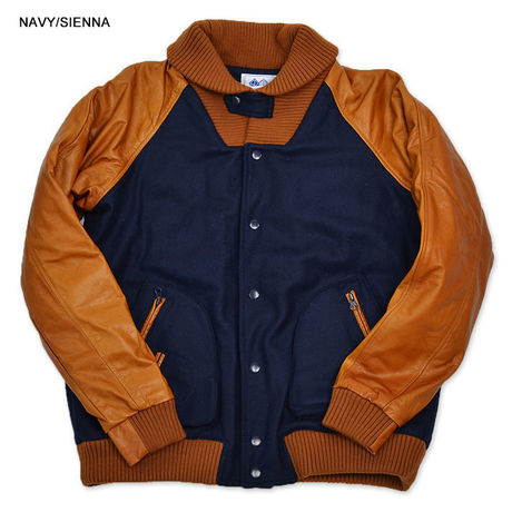 The Heisman Jacket (Navy/Sienna)