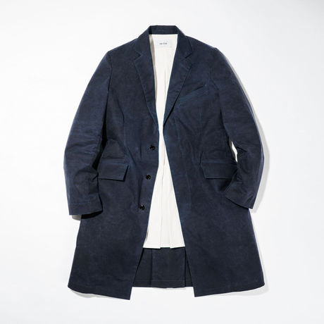UNITUS(ユナイタス) Chesterfield Coat Navy 【web限定商品】