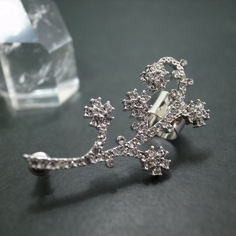 Ear Cuff (gorgeous stone/silver)