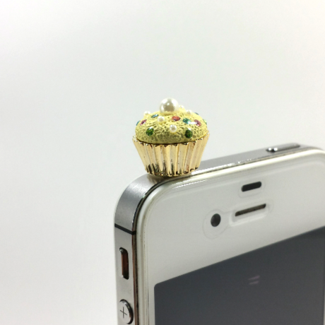 Earphone jack(cup cake)