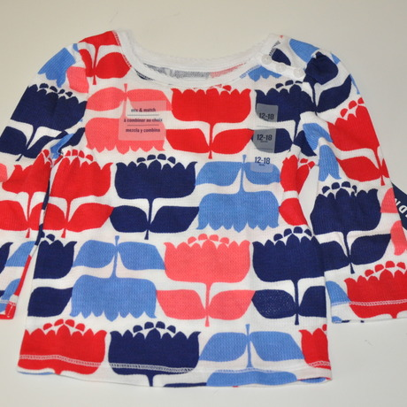 OLD NAVY*Long Sleeves T-shirts(TULIP・WH)