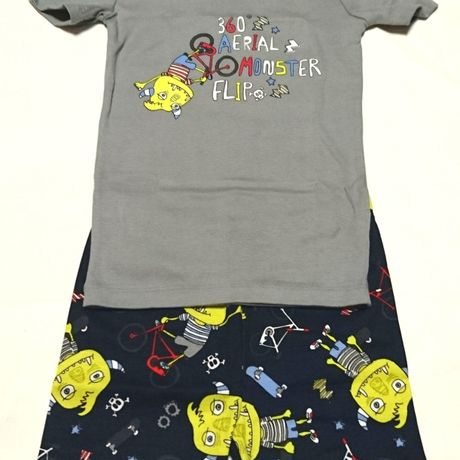 THE CHILDREN'S PLACE*pajamas(GY/monster)