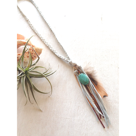 Deerskin Fringe/Long Necklace