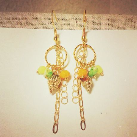 Tropical Color Earrings