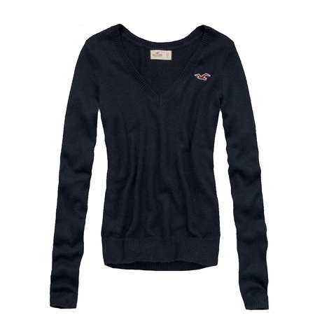 ♡SALE♡ Hollister Vneck セーター Navy