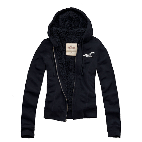 """♡SALE♡ Hollister """"Arrow"""" フードパーカー Navy"""