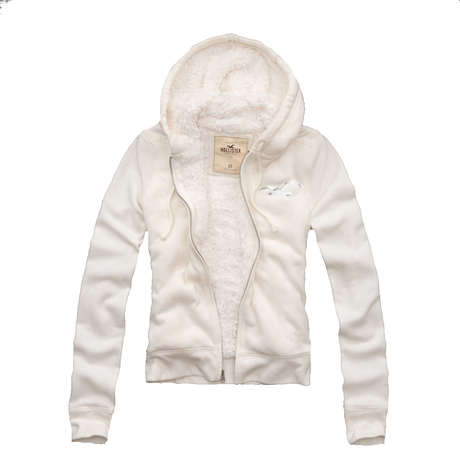 """♡SALE♡ Hollister """"Arrow"""" フードパーカー White"""