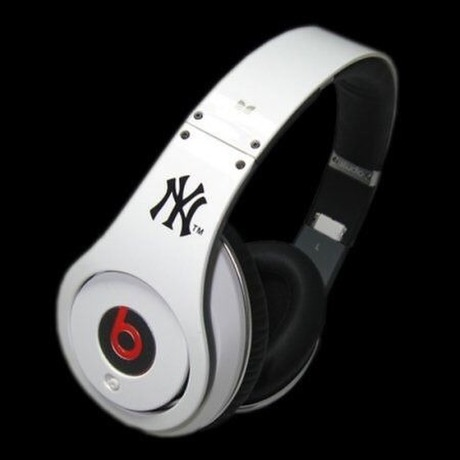 ヘッドホンMonster beats(MLB) New York Yankees ホワイト