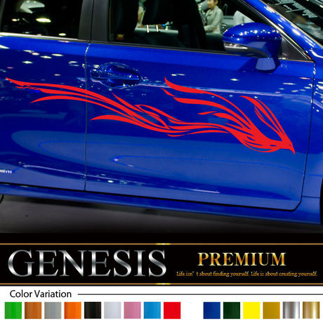 Phonics car Sticker 15/car vinylgraphic/Custom Stickers/decals/genesis/fast and furious