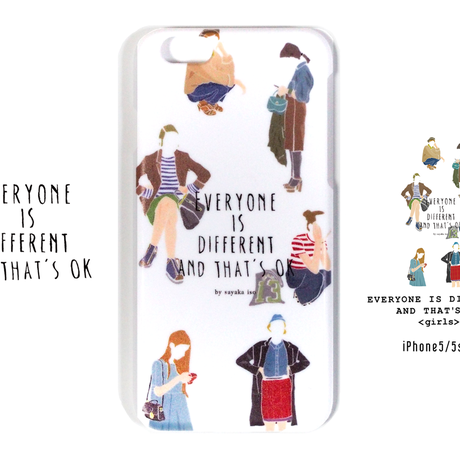 EVERYONE IS DIFFERENT AND THAT'S OK white-girls iPhone5/5s