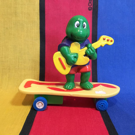 SKATE PALS Guitar Turtle Yellow Board/スケートパルズ ギタータートル/160302-6