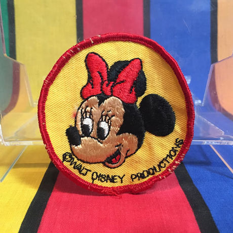 Disney Minnie Mouse Patch/ディズニー ミニーマウス パッチ/160303-8