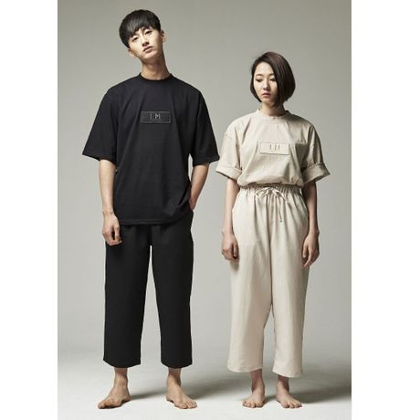TWS BAGGY WIDE PANTS(BLACK/UNISEX)