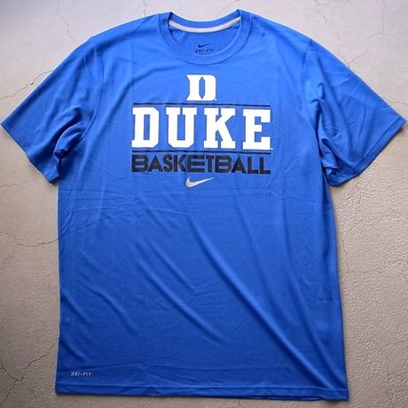 NIKE NCAA dry-fit Tee 【DUKE】 .