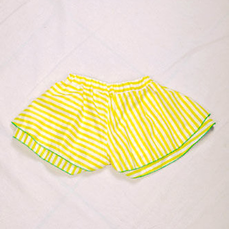 ZoZio ★ Stripe flare short pants 【SALE】50%OFF☆