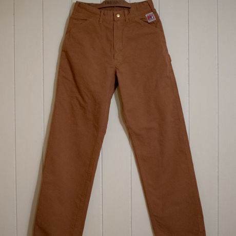 TCB Carpenter Pants Bronw Duck