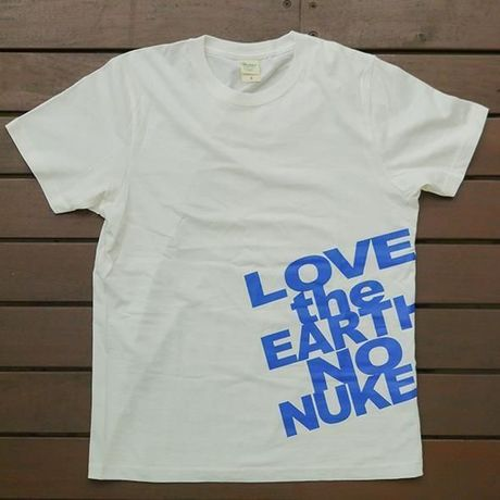 LOVE the EARTH NO NUKES T-shirt
