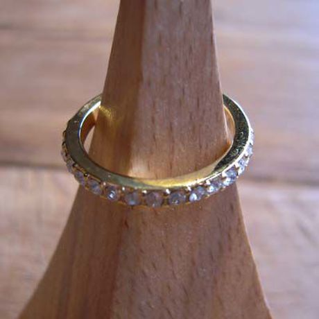 Eternity Crystal Ring