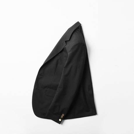 5A SILK COTTON JACKET BLACK