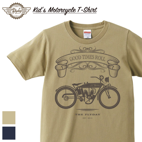 【KID'S】Motorcycle T-Shirt